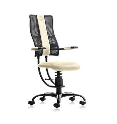beige računalniški stol SpinaliS