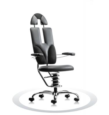 direktorski usnjen pisarniški stol spinalis