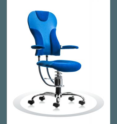 kromiran ergonomski pisarniški stol