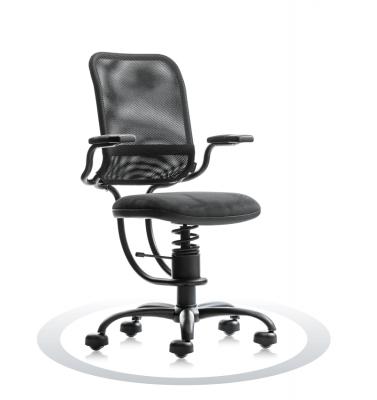 ergonomski stol črn