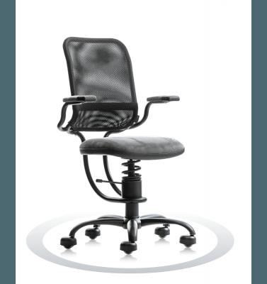 ergonomski stoli sive barve