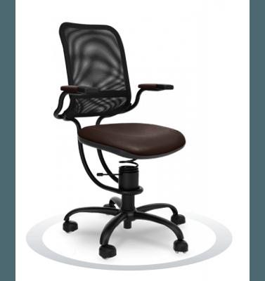 ergonomski stoli rjave barve