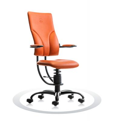 oranžen ortopedski stol