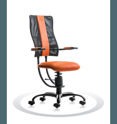oranžen računalniški stol
