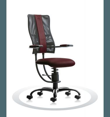 rjav računalniški stol