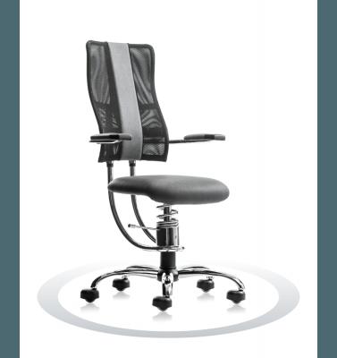 sivi računalniški stoli