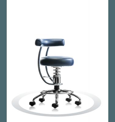moder zobozdravniški stol