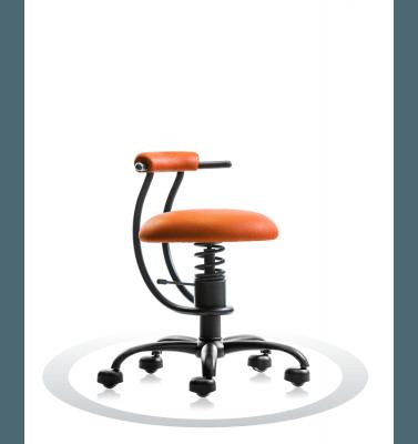 žoga za sedenje oranžna barva