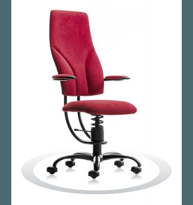 rdeč pisarniški stol