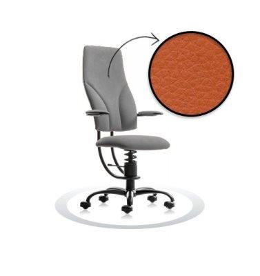 oranžen pisarniški stol